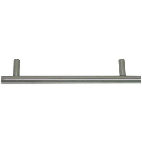 Handle 1001 for solid 304 stainless steel furniture - 96mm - Brushed finish