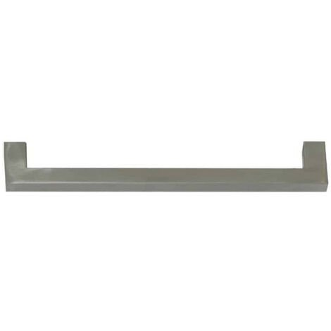 Handle 1004 for stainless steel furniture 304 - 256mm - Brushed finish