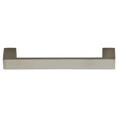 Handle P3007 for furniture - 128mm - Matt Nickel-plated finish