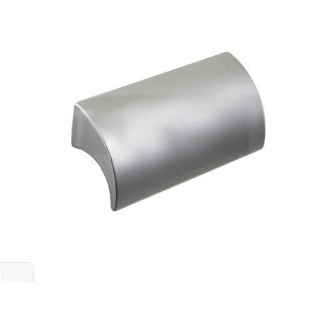 Handles - Slats. U-5. Anodized Aluminum 100 Mm. Distance Between Screws = 64Mm