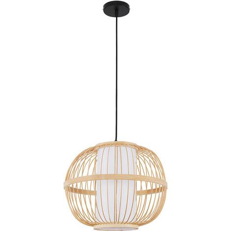Handmade Bamboo Pendant Lamp Natural wood