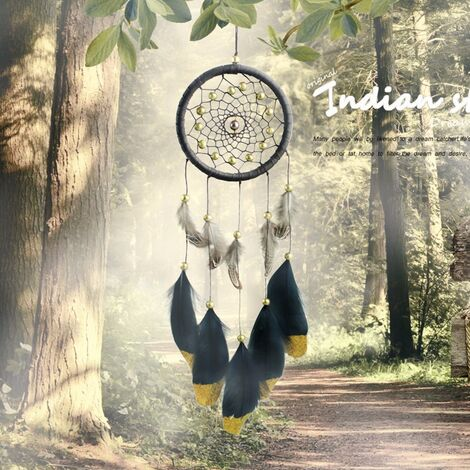 Handmade Dreamcatcher Or Feather Wall Hanging Car Decoration Ornament Christmas Gift