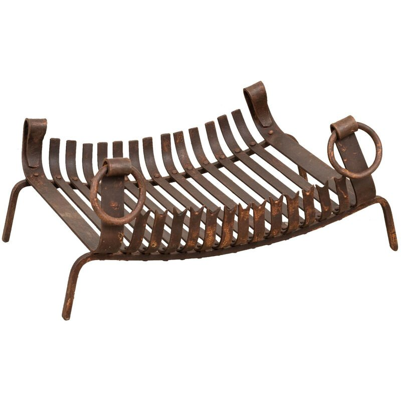 Biscottini - Handmade wrought iron brazier L64XPR48XH30 cm