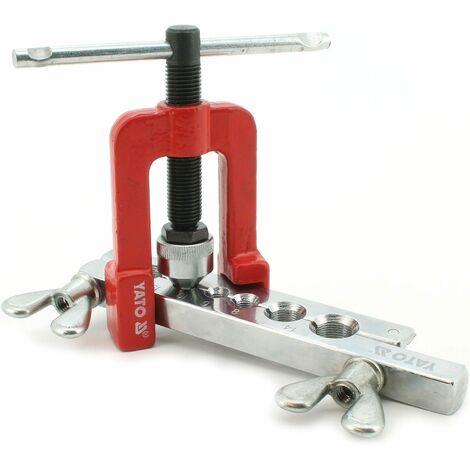 Handpresse zum Aufweiten von Rohren Bördelmaschine Rohrpresse Auftreiber Bördel Ø 3 - 19 mm