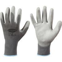 Handsch. Shenzhen hecho punto, nilón, tamaño 8, gris