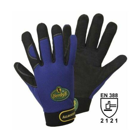 Handschuhe ALLROUNDER, royalblau / schwarz, 1 Paar, Größe XXL Arbeitshandschuhe