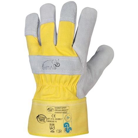 Handschuhe Mammut Rind/Kernspaltleder VPE 12