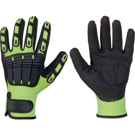 Handschuhe Resistant Gr.10 leuchtend gelb/schwarz Kunstfaser EN 388 Elysee