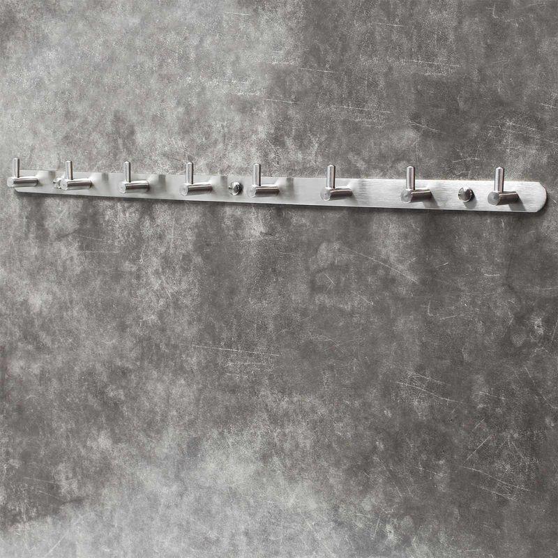 WEBI Kleiderhaken /über der T/ür AZB-SHYHG-2 rot Handtuchhalter mit 6 Haken zum Aufh/ängen R/ückseite des Badezimmers T/ürgarderobe Garderobe f/ür Kleidung Handtuchaufh/änger /über die T/ür