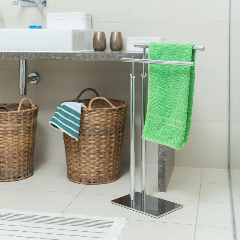 Handtuchhalter Chrom Stehend
