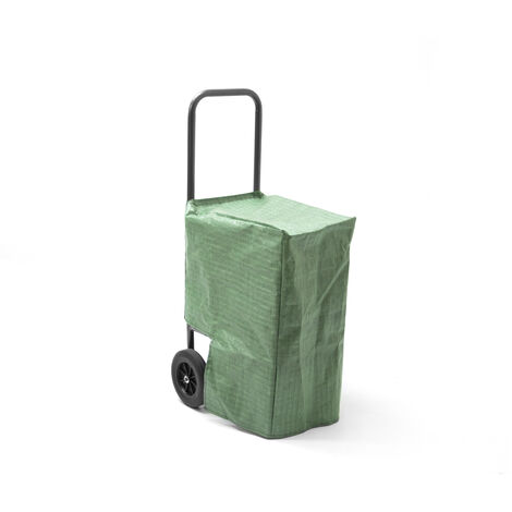 Handy LC Log Cart Mobile Storage Trolley with Cover