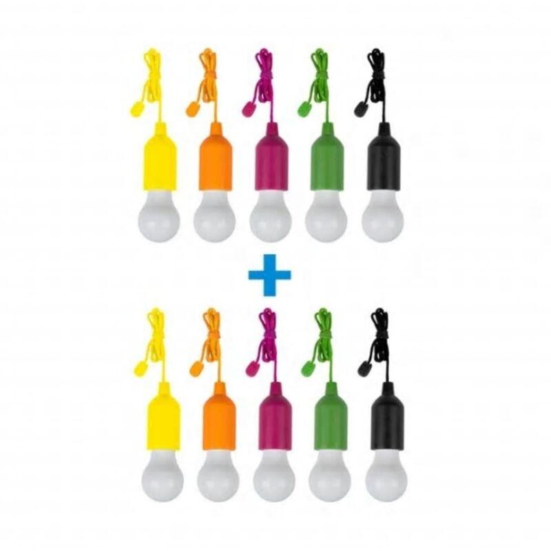 Luci a Batteria 10 pz - Multicolor - Handy Lux