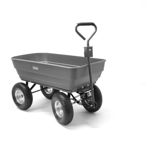 Handy PDC Poly Body Garden Cart Trolley 200kg Capacity