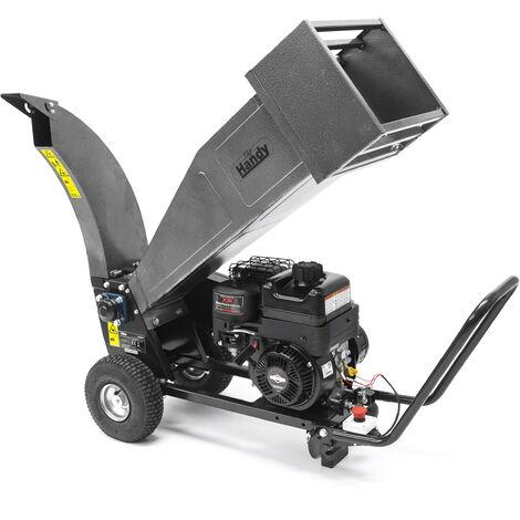 "main image of ""Handy PDS65 Petrol Portable Drum Garden Chipper Shredder 60mm"""