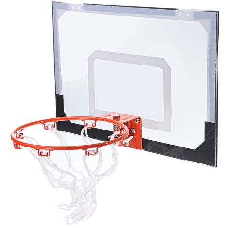 Hanging basketball hoop exercise game toy