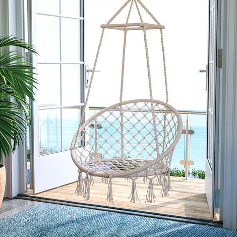 "main image of ""Hanging chair - garden swing seat, hanging egg chair, garden swing chair"""