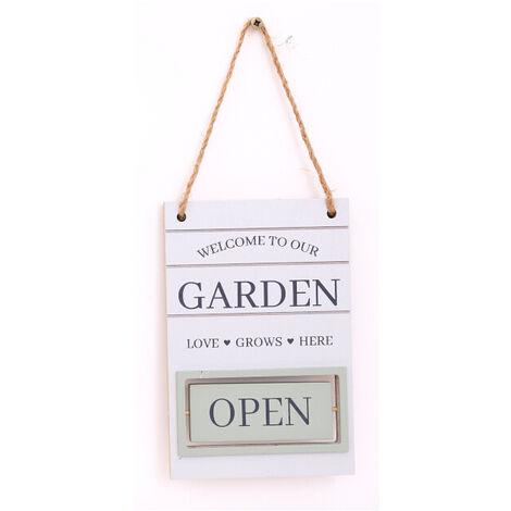 Hanging Garden Decoration Plaque