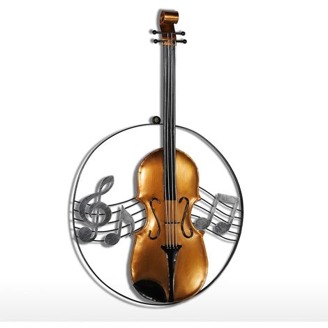 Hanging Ornament Violin Musical Instrument Craft Gift