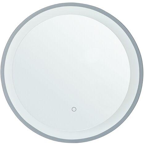 "main image of ""Hanging Round LED Mirror Defogger Bathroom Accessories 58 cm Transparent Brinay"""