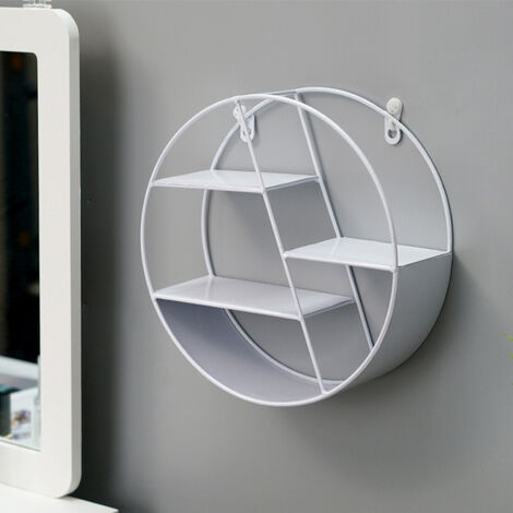 Hanging Shelf Storage Shelf Display Home Decor White