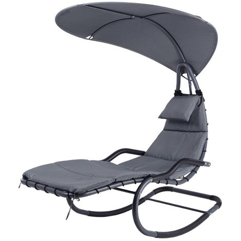 Hanging Swing Chair - Grey