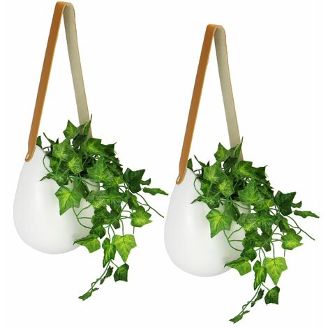 Hanging Wall Planters - Set of 2 | M&W
