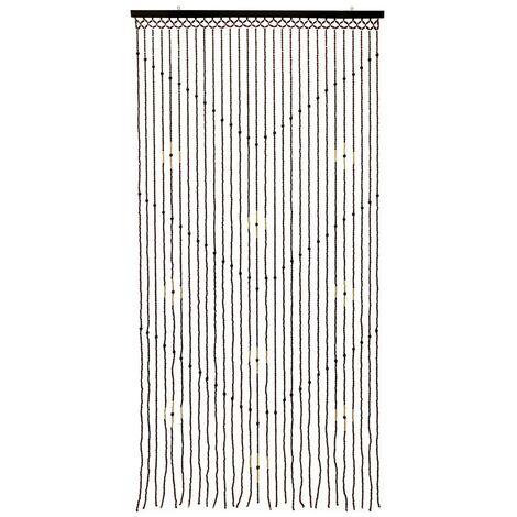 "main image of ""Hanging Wooden Beaded Door, Zig Zag Curtain Screen, 90cm x 180cm Approx, Multi, 90 x 180cm"""