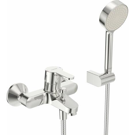 Hansa Hansaprimo Mezclador monomando para bañera con ducha Proyección 155 mm - 4944210300003