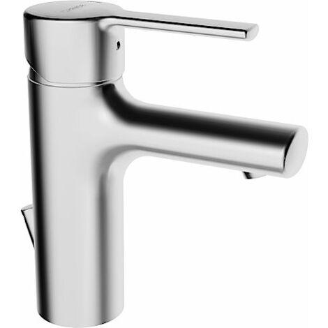 Hansa Hansaronda Mitigeur monocommande de lavabo, 0309, raccordement par flexibles de pression, avec bonde de vidange, chromé - 03092273