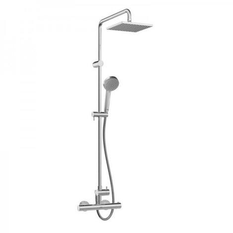 Hansa UNITA Thermostatic shower mixer, DN 15 (G 1/2) for wall mounting (581491130067)