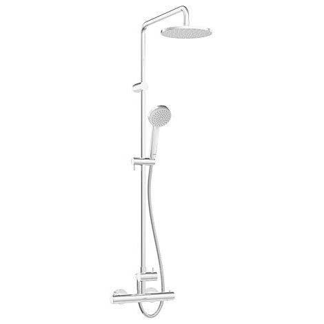 Hansa Unita Thermostatic Shower Set, DN 15 (G 1/2) (58149103)