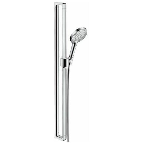 Hansgrohe Axor Citterio E ensemble de douche avec douchette à main Raindance Select S 120 3jet, Coloris: chrome - 36735000