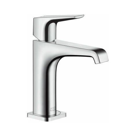 Hansgrohe Axor Citterio E mitigeur monocommande de lavabo 125 avec béquille sans kit de vidange, Coloris: chrome - 36111000
