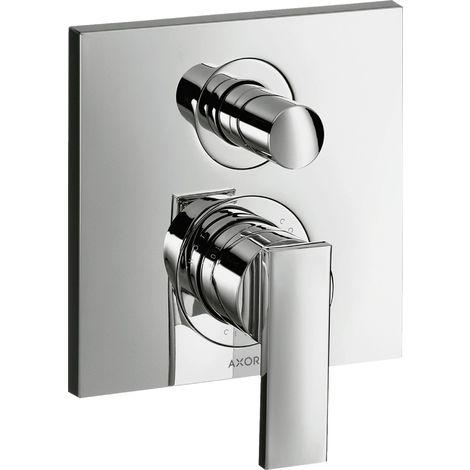 Hansgrohe Axor Citterio Single lever bath mixer flush-mounted, integrated fuse combination, colour: chrome - 39457000