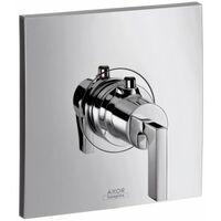 Hansgrohe Axor Citterio Thermostat 59 l/min Thermostat encastré à haut débit, poignée à levier - 39711000