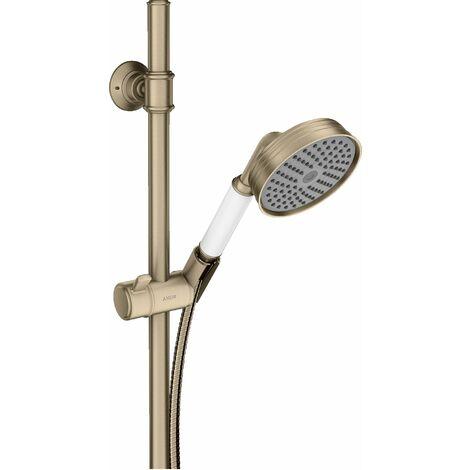 Hansgrohe Axor Montreux set de ducha 0,90 m, teleducha 100 1jet Classic, color: Níquel Cepillado - 27982820