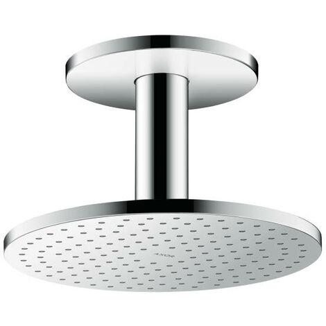 Hansgrohe AXOR ShowerSolutions 250 Pomme de douche suspendue 1 jet, raccordement au plafond, Coloris: chrome - 35286000