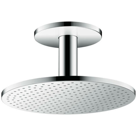 Hansgrohe AXOR ShowerSolutions douche suspendue 300 2jet, raccordement au plafond, Coloris: chrome - 35304000