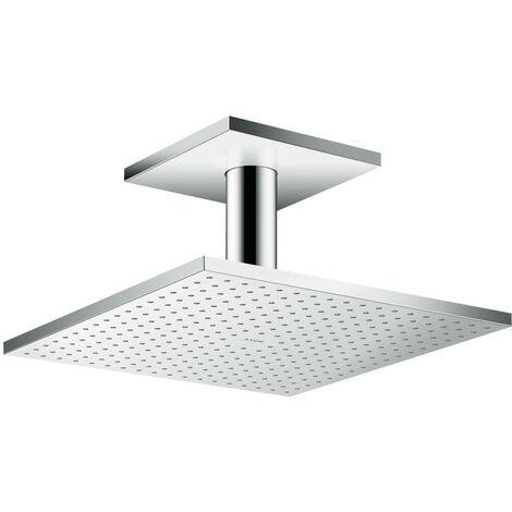Hansgrohe AXOR ShowerSolutions douchette suspendue 300/300 2jet, raccordement au plafond, Coloris: chrome - 35320000