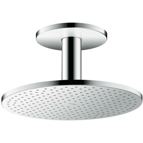 Hansgrohe AXOR ShowerSolutions pomme de douche 300 1 jet, raccordement au plafond, Coloris: chrome - 35301000