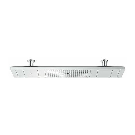 Hansgrohe AXOR ShowerSolutions ShowerHeaven 1200/300 4jet, sans éclairage, Coloris: chrome - 10637000