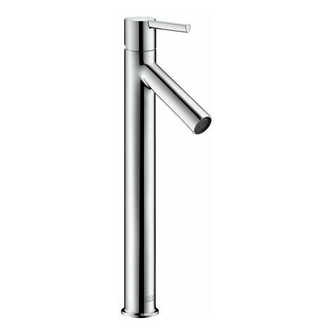 Hansgrohe Axor Starck Mitigeur monocommande de lavabo 250 pour lavabo avec poignée sans timon, chromé, Coloris: chrome - 10103000