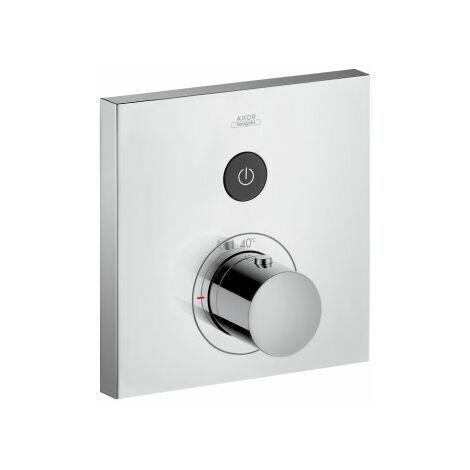 Hansgrohe Axor Starck ShowerSelect Termostato cuadrado empotrado para 1 consumidor, color: cromado - 36714000