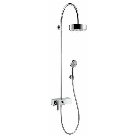 Hansgrohe Axor Starck ShowerSolutions Tuyau de douche avec mitigeur monocommande et pomme de douche 1 jet, Coloris: chrome - 39620000