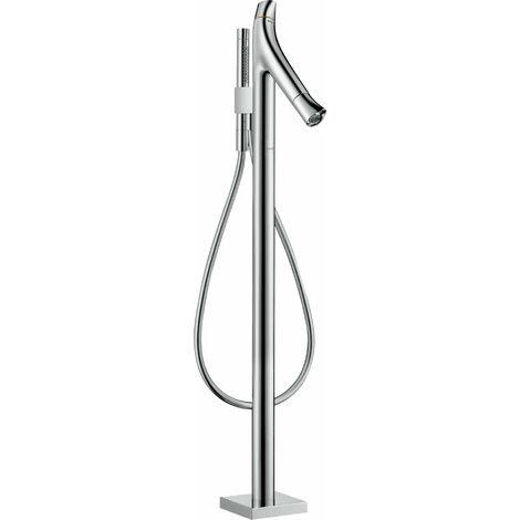 Hansgrohe AXOR Starck Termostato de baño orgánico de pie, 2 consumidores, color: cromado - 12016000
