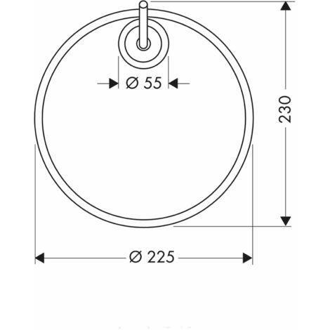 Hansgrohe Axor Starck towel ring - 40821000