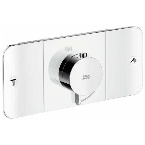 Hansgrohe Axor Starck Un module thermostat encastré pour 2 consommateurs, Coloris: chrome - 45712000