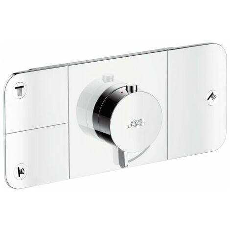 Hansgrohe Axor Starck Un module thermostat encastré pour 3 consommateurs, Coloris: chrome - 45713000