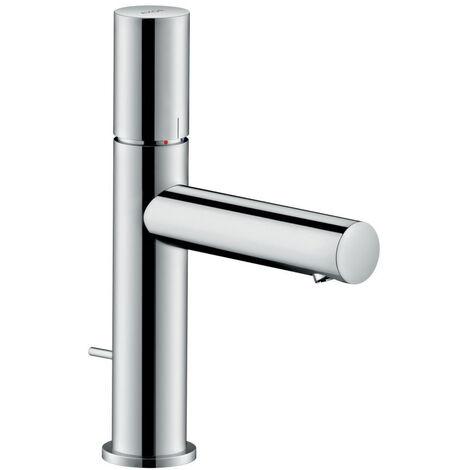 Hansgrohe AXOR Uno mitigeur monocommande de lavabo 110, Zerogriff, vidage par pop-up, saillie 123mm, Coloris: Nickel brossé - 45001820