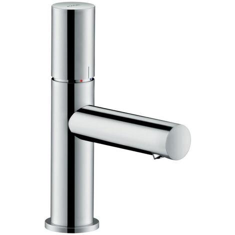 Hansgrohe AXOR Uno mitigeur monocommande de lavabo 80, Zerogriff, sans waste set, saillie 108mm, Coloris: Nickel brossé - 45005820